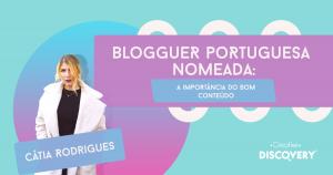 bloguer nomeada, conteúdo, creative discovery, blog marketing