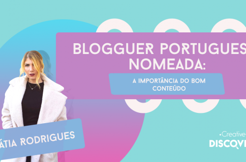 bloguer nomeada, conteúdo, creative discovery, blog marketing