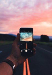 luz natural, qualidade, iphone, redes sociais